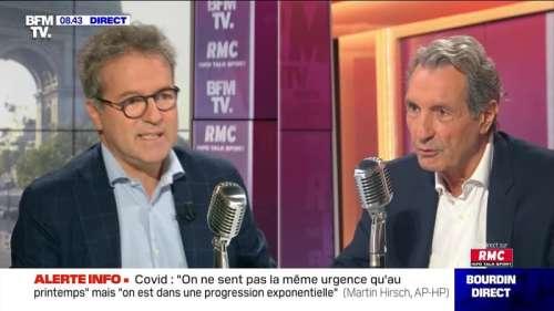 Martin Hirsch face à Jean-Jacques Bourdin en direct - 14/09