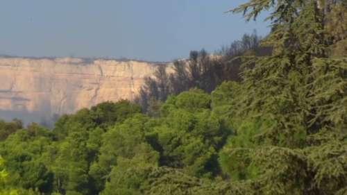 Incendies dans les Bouches-du-Rhône: le feu est fixé à Rognac