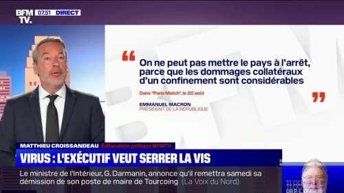 L'édito de Mathieu Croissandeau: Virus, l'exécutif veut serrer la vis - 25/08