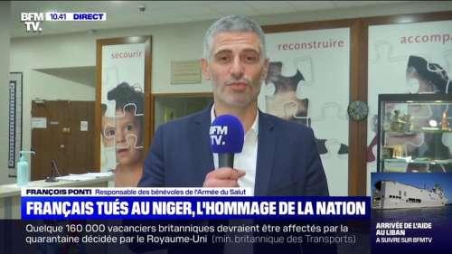 Français tués au Niger, l'hommage de la Nation - 14/08