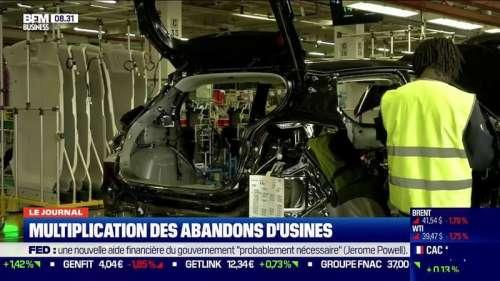Vers un coup d'arrêt des créations d'usines en France