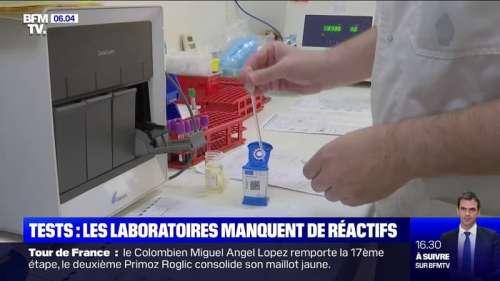 Covid-19: certains laboratoires pointent une pénurie de réactifs, indispensables aux tests PCR