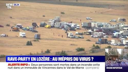 Coronavirus: une rave-party en Lozère inquiète les autorités sanitaires
