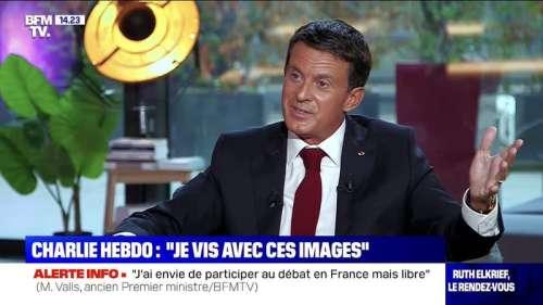 Manuel Valls sur Charlie Hebdo: