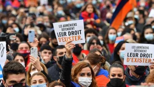 Paris: des milliers d'Arméniens demandent la