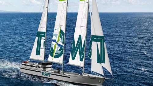 L'armement breton TOWT lance un appel d'offre pour 4 cargos à voile