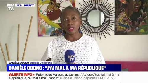 Danièle Obono sur la polémique de Valeurs actuelles: