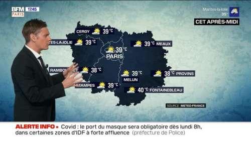 Météo Paris-Ile de France du 8 août: Vers un record de chaleur