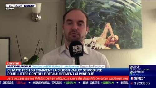 Matthieu Soulé (BNP Paribas): Comment la Silicon Valley se mobilise pour lutter contre le réchauffement climatique ? - 14/10