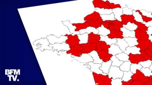 Covid-19: une nouvelle carte dévoilée ce mercredi soir avec des zones