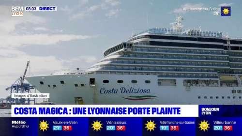 Covid-19: une Lyonnaise présente à bord du Costa Magica en mars porte plainte contre la compagnie