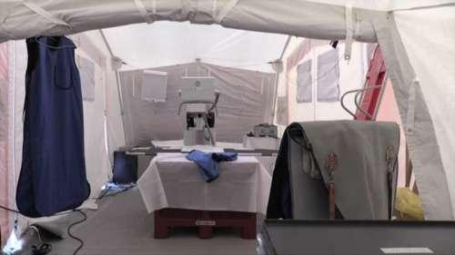 Covid-19 en Guyane: un hôpital de campagne installé pour délester le Centre hospitalier de Cayenne