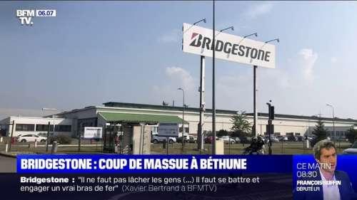 L'usine Bridgestone à Béthune annonce sa fermeture, 823 emplois menacés