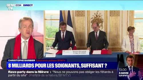 L'édito de Christophe Barbier : 8 milliards pour les soignants, suffisant ? - 14/07