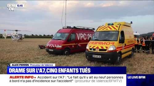 Accident sur l'A7: le procureur de Valence évoque