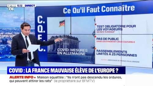 Coronavirus: pourquoi y a-t-il plus de cas positifs en France que dans les autres pays européens?