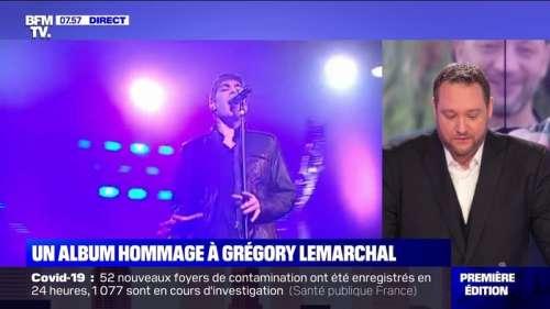 Un album hommage à Grégory Lemarchal - 22/09