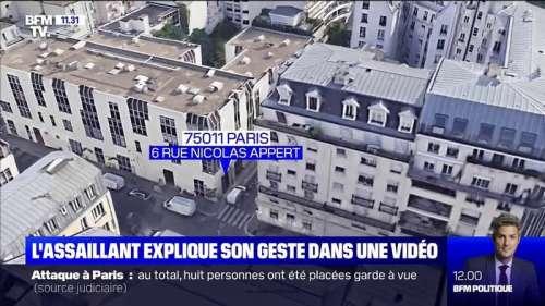 Attaque à Paris: le principal suspect explique son geste dans une vidéo