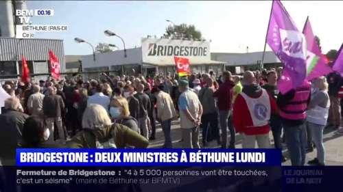 Bridgestone: la mobilisation après l'annonce de la fermeture de l'usine de Béthune