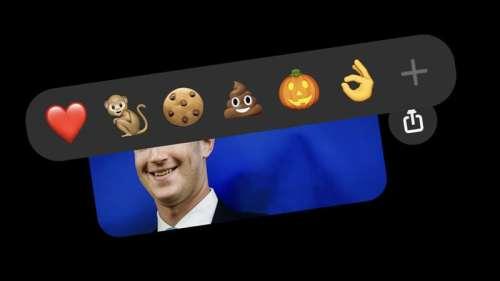 Facebook Messenger permet désormais de réagir à un message avec n'importe quel emoji