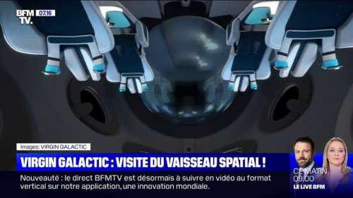 Virgin Galactic dévoile son vaisseau pour des voyages dans l'espace à 215.000 euros le billet