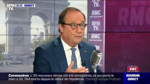 François Hollande face à Jean-Jacques Bourdin en direct - 09/09