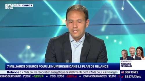 Cédric O (Transition numérique) : 7 milliards d'euros pour le numérique dans le plan de relance - 03/09