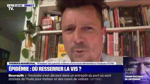 Toulouse: 217 élèves d'une école élémentaire renvoyés chez eux après la détection d'un cas positif au Covid-19