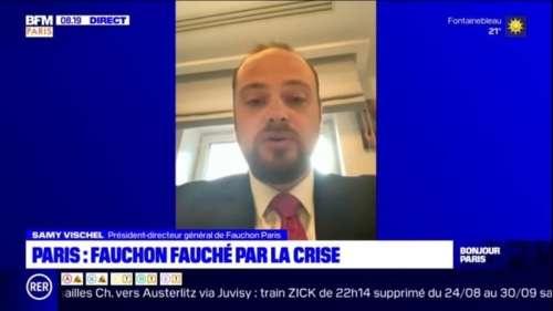 Fermeture des magasins Fauchon: Nous espérons ouvrir d'autres boutiques sur Paris quand la situation le permettra