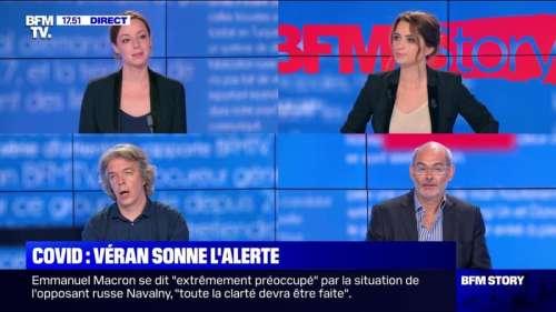 Story 8 : Olivier Véran sonne l'alerte sur la hausse actuelle des contaminations - 21/08