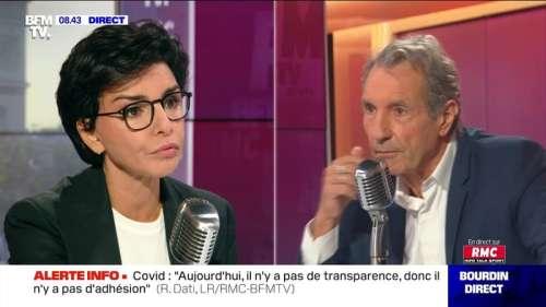 Rachida Dati à Jean-Jacques Bourdin en direct - 11/09