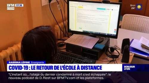 Covid-19: le retour de l'école à distance dans le Rhône