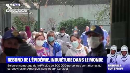 États-Unis, Mexique, Australie... Inquiétude dans le monde face au rebond de l'épidémie de coronavirus