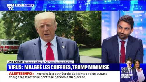 Coronavirus: Donald Trump minimise la situation aux États-Unis - 19/07