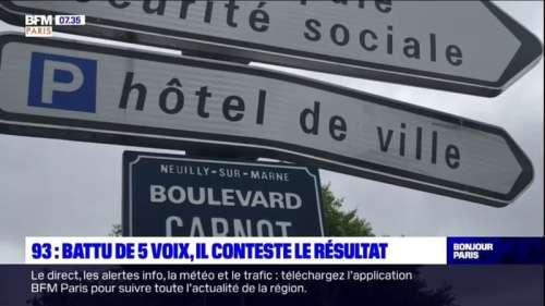 Neuilly-sur-Marne: battu de cinq voix, le maire sortant envisage de déposer un recours