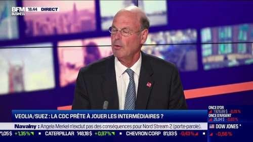 Eric Lombard (CDP) concernant l'offre de Veolia sur Suez: