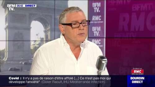 Michel Onfray face à Jean-Jacques Bourdin en direct - 16/09