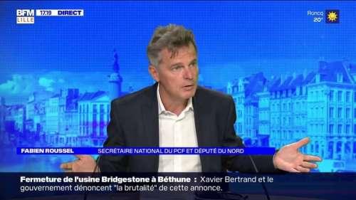 Bridgestone: Fabien Roussel (PCF) déplore les licenciements