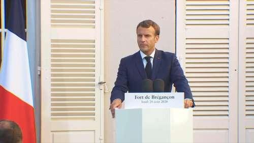 Coronavirus: Emmanuel Macron confiant pour l'obtention d'un vaccin