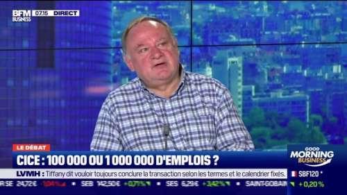 Le débat : CICE, 100 000 ou 1 000 000 d'emplois ? par Jean-Marc Daniel et Nicolas Doze - 17/09