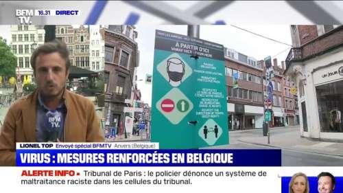 Coronavirus: la Belgique durcit les mesures de restriction