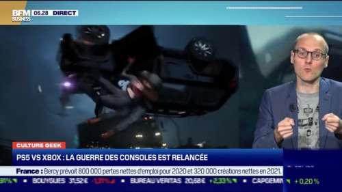Culture Geek : PS5 VS Xbox, la guerre des consoles est relancée par Anthony Morel - 17/09