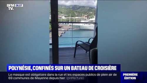 340 personnes confinées à bord d'un bateau de croisière en Polynésie française à cause d'un cas de coronavirus