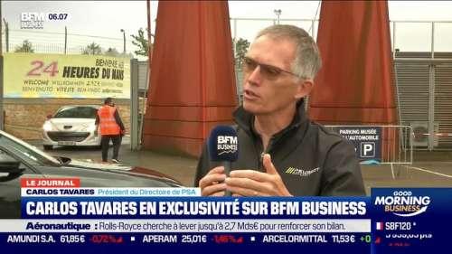 CO2: Carlos Tavares assure que PSA pourra répondre aux exigences toujours plus strictes de Bruxelles