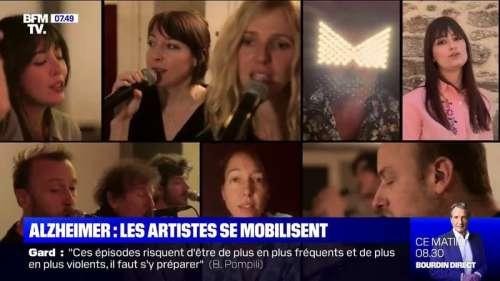 Seize artistes se mobilisent contre la maladie d'Alzheimer