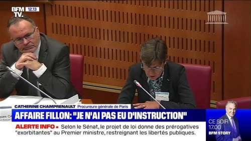 La procureure générale de Paris dit