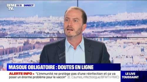 Les doutes concernant l'obligation du port du masque dans les rues à Paris s'invitent sur les réseaux sociaux