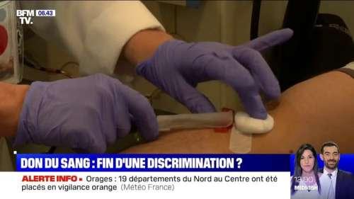 Loi bioéthique: la possible levée du délai d'abstinence pour les donneurs de sang homosexuels fait débat
