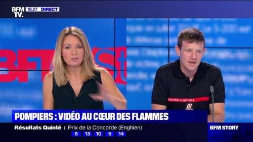 Story 3: La vidéo montrant des pompiers piégés par les flammes - 07/08