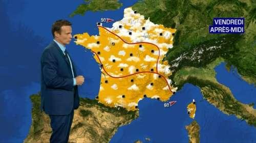 Le temps ce vendredi: instable au Nord, plus sec au Sud